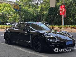 保时捷Taycan轻度伪装版于6月28日在上海亮相