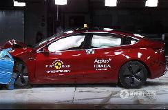 打破E-NCAP碰撞测试安全记录 特斯拉Model3获满分!