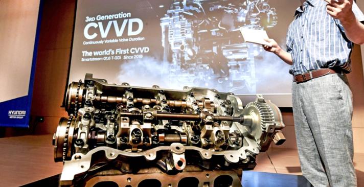 现代公布新型CVVD发动机技术 【图】