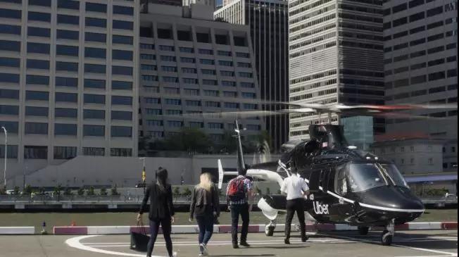 自7月9日起,Uber提供从曼哈顿下城到肯尼迪机场的网约飞的服务