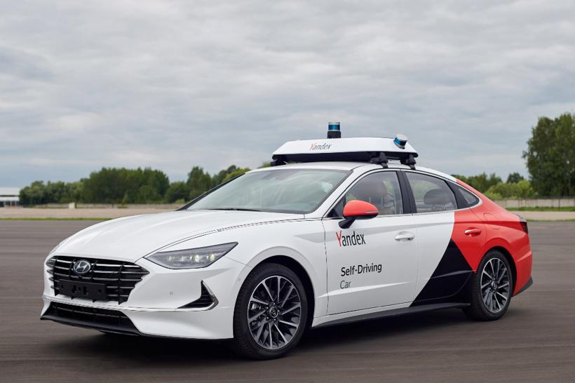 现代摩比斯合作Yandex推首款自动驾驶原型车索纳塔2020 【图】