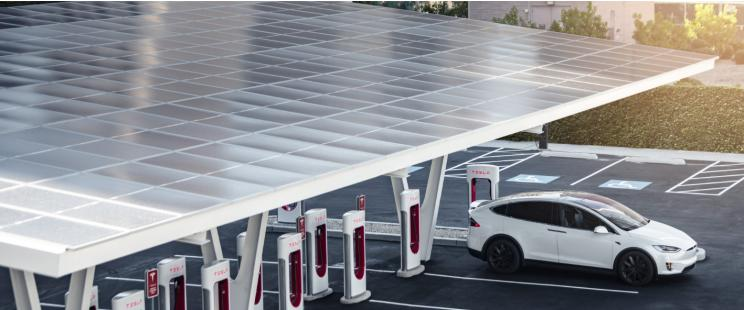 特斯拉利用太阳能平衡超级充电站成本 【图】