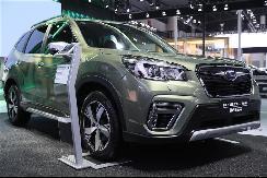 继日内瓦车展全球首发之后,斯巴鲁SUV概念车中国首秀