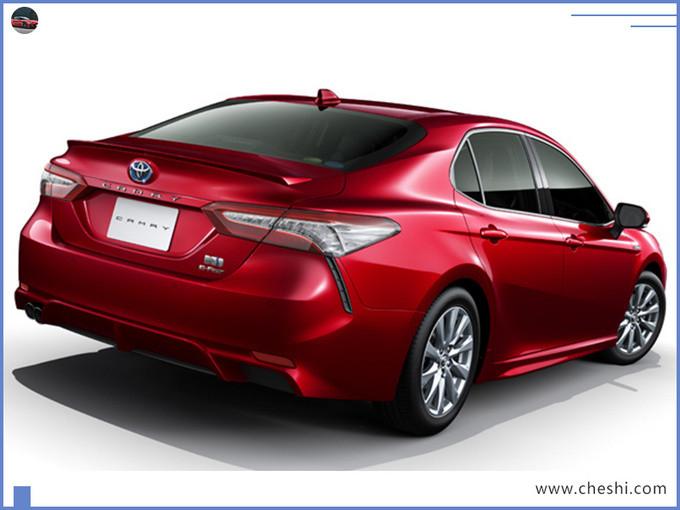 丰田新款凯美瑞12月发布 配置升级/增四驱版车型-图6