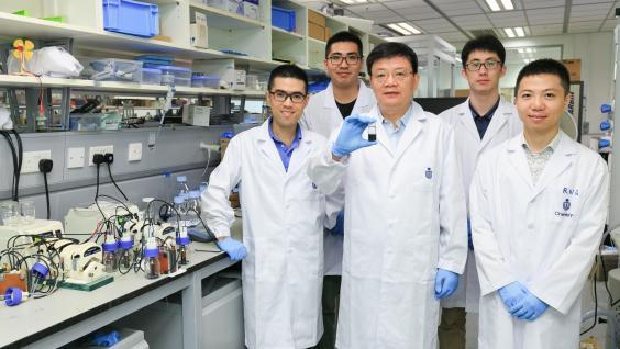 香港科技大学研发电子燃料 可在几分钟内给电动