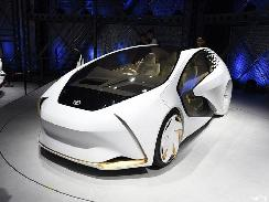 匹配丰田LQ 松下研发增强现实抬显系统