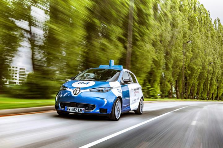 黑科技,前瞻技术,自动驾驶,雷诺,雷诺ZOE,雷诺自动驾驶,雷诺巴黎按需出行,汽车新技术