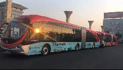 董明珠旗下银隆新能源推出5G公交车,已正式下线试跑