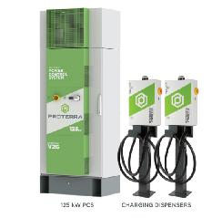 Proterra推出多分配器充电解决方案 可用于重型电动汽车