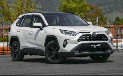 丰田最省油SUV上市,百公里油耗仅4.7升,本田这次怕了吗?