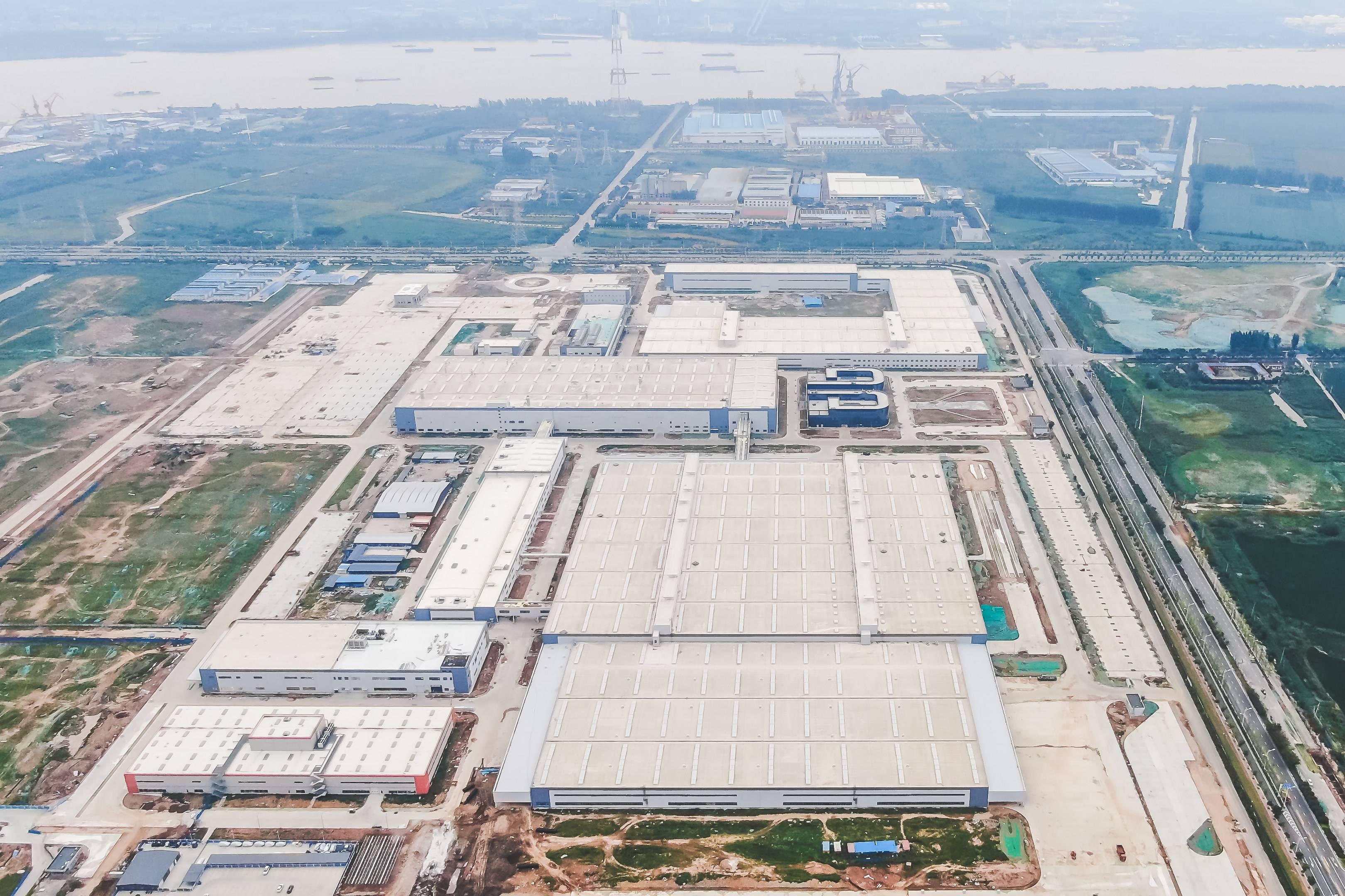 工厂鸟瞰图