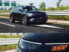 将于广州车展上市 腾势X无伪装实车曝光