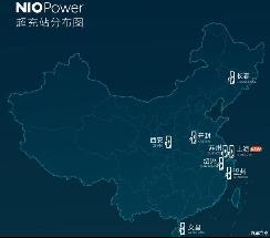 配105kW充电桩 上海首座蔚来超级充电站已正式投入运营
