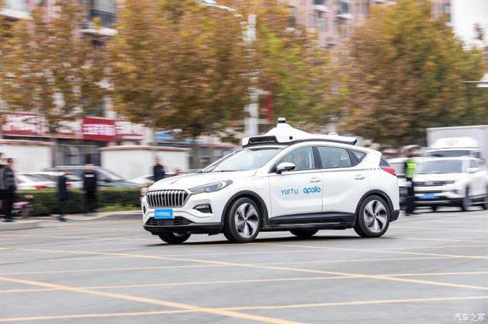 自动驾驶,百度自动驾驶载人测试