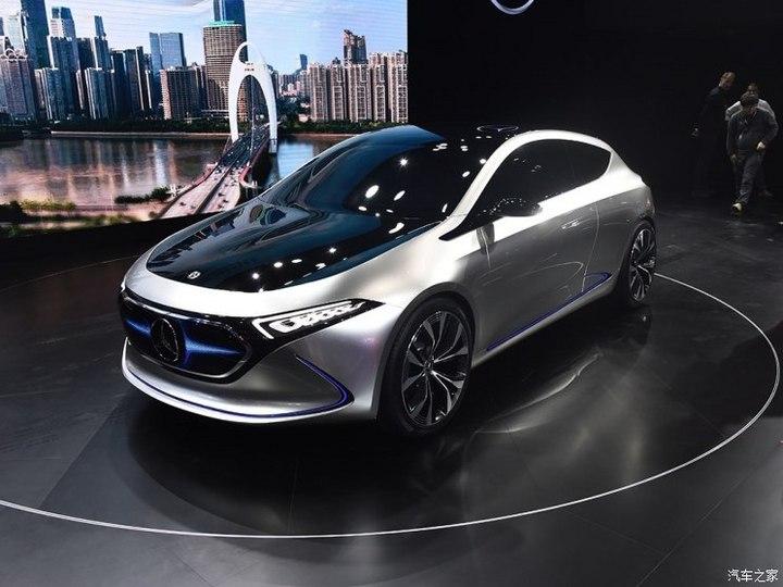梅赛德斯-EQ 奔驰EQA 2017款 Concept