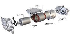 ID.3电动动力总成 命名为APP 310电驱动器