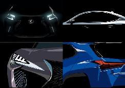 就是它,雷克萨斯首款纯电汽车终于露出真面目