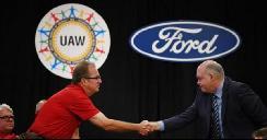 福特与UAW达成协议 将与FCA展开新的磋商