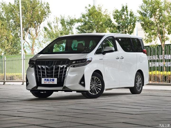 丰田(进口) 埃尔法 2019款 双擎 2.5L 尊贵版