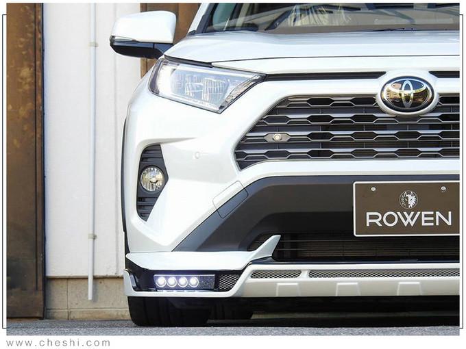 丰田全新RAV4改装版曝光 这外观设计能接受吗-图2