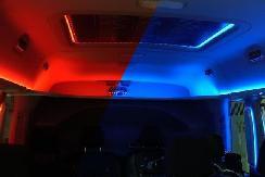 福特另类增程法:通过灯光让车内乘客感受到温暖或凉爽