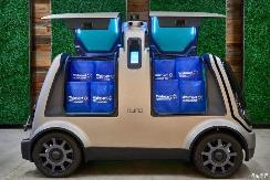 外卖车上路 美国放宽自动驾驶测试范围