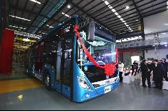 加氢15分钟,续航600公里,宁波首台氢燃料电池公交车正式下线