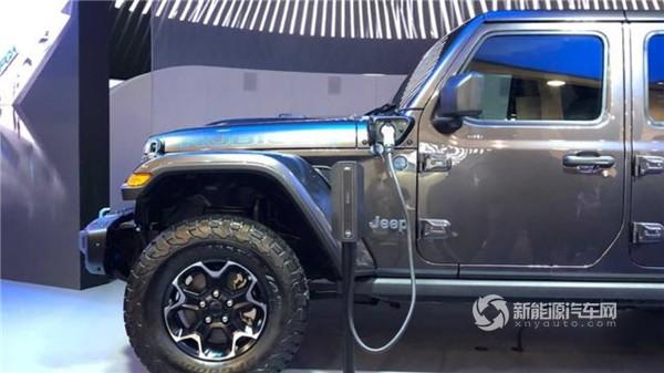 Jeep牧马人PHEV亮相 有望北京车展首发