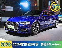 2020海口新能源车展:奥迪A6L e