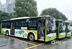 """新增一抹""""绿""""——重庆长寿区首批新能源公交亚星造!"""