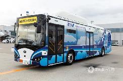 满身黑科技--全球首款机场专用自动驾驶纯电动大巴登陆日本