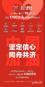 再捐1700万,福田汽车坚持助力防护疫情阻击战!