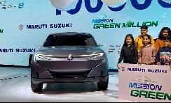 铃木发布纯电小型SUV概念车Futuro