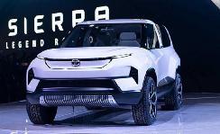 塔塔发布全新电动概念车Sierra EV 厢货和SUV的结合体