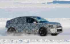 雪铁龙最新跨界SUV谍照曝光,轮毂看很可能是新能源车型 【图】