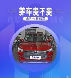 小保养320元 比亚迪宋Pro EV养车成本