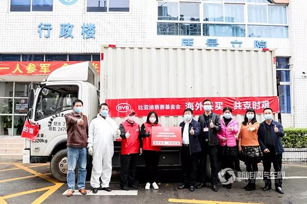 交付!驰援深圳5家医院,比亚迪捐赠N95口罩到了