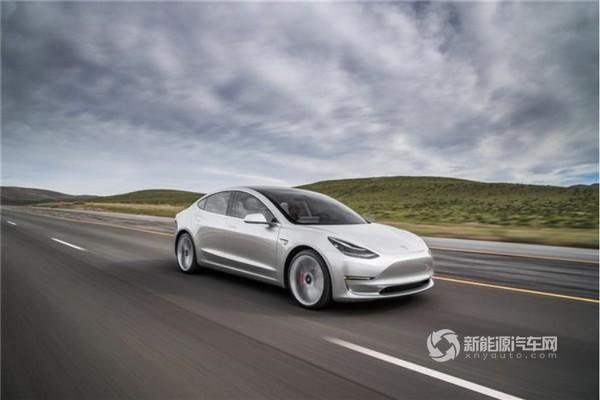 特斯拉:中国工厂计划生产Model 3长续航后驱版