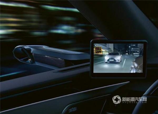 雷克萨斯新款ES 300h最新消息 新增电子后视镜