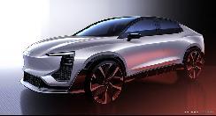 奥山清行设计的轿跑SUV!爱驰U6即将亮相日内瓦