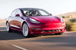 Model 3被美国《消费者报告》评为2020年最佳电动汽车