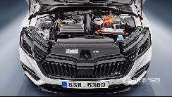 斯柯达发布首款混动车型:明锐RS iV
