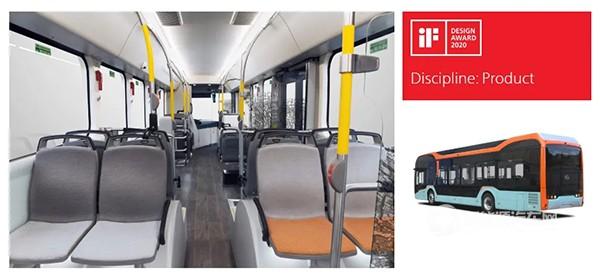 又一亮眼名片,比亚迪纯电动巴士获国际设计大奖