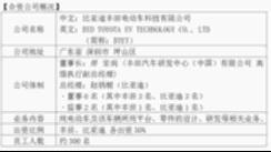 比亚迪丰田电动车科技有限公司正式成立 【图】