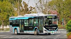 蔚蓝Azure纯电动公交跑起来!五张美图带你进南通......