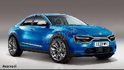 起亚全新纯电动SUV假想图曝光 车头酷似Macan/最大续航超480km