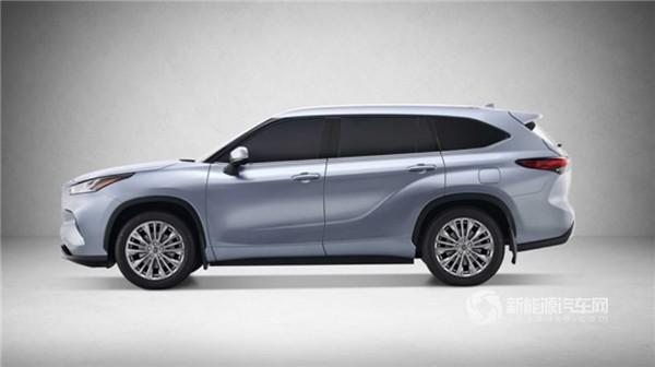 全新丰田汉兰达将于2021年引入中国 混动版售价或28万元