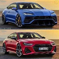 兰博基尼发布全新轿跑车型渲染图 疑似换脸奥迪RS7