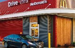 开着电动汽车去麦当劳,可不只是为了炸鸡与汉堡