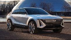 凯迪拉克首款纯电动车型Lyriq发布 未来派风格2023年推出